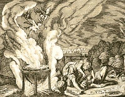 La Brujera en los Tiempos Antiguos